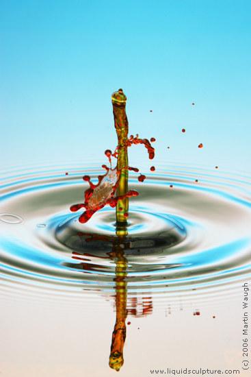 водяные скульптуры от Мартина Вуфа (Martin Waugh)
