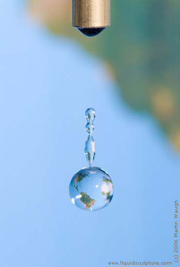 "Water Drop image called ""untitled_012"", (c) 2011 Martin Waugh"